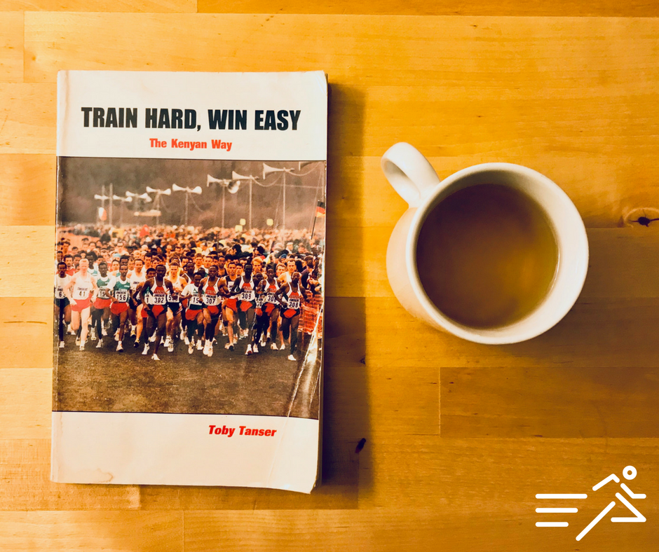 My well thumbed copy of the classic text Train Hard, Win Easy.