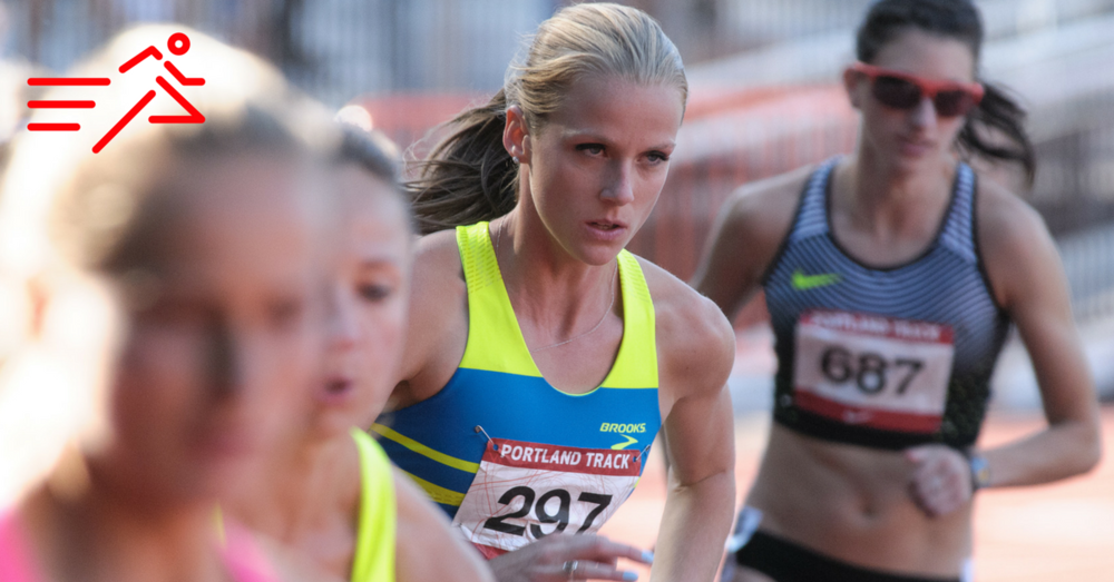 HPW Elite 800m specialist McKayla Fricker (#297).