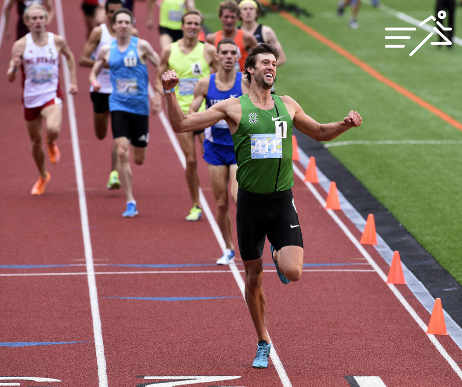 In 2014, Andrew Wheating was awesome at the  Portland Track Festival , winning the Men's High Performance 1500m in dominant fashion.