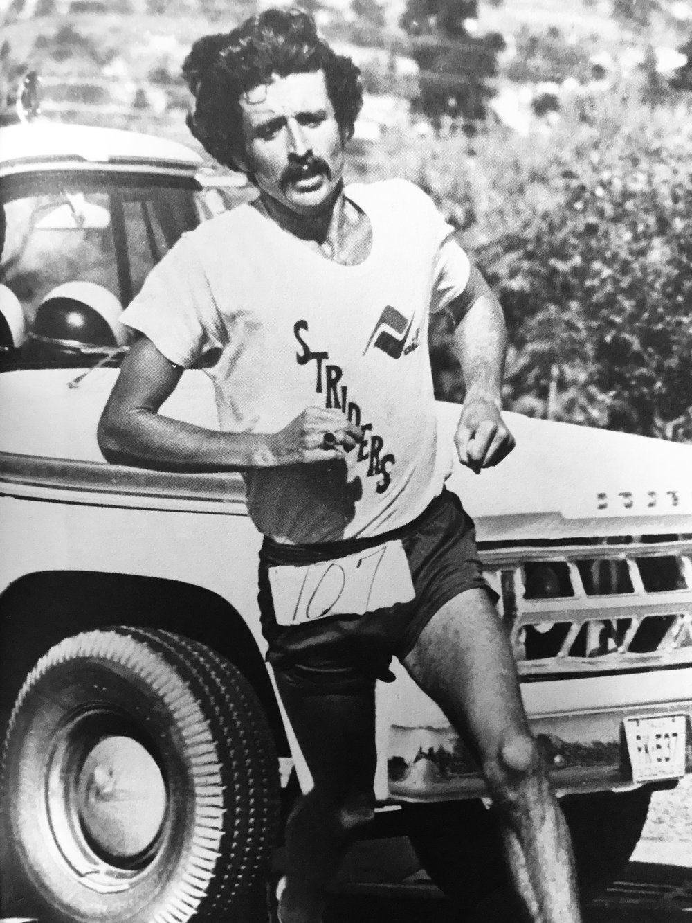 Frank Shorter, 1972 Olympic Marathon gold medalist and the father of the first American distance running boom.