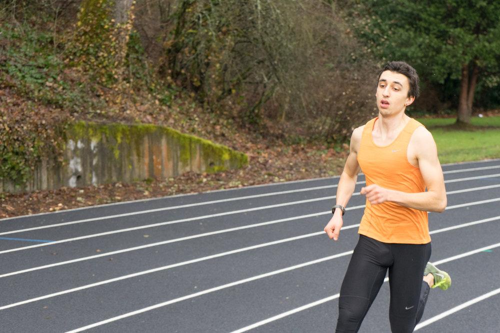 HPW Elite 1:47 half miler, Nathan Fleck.