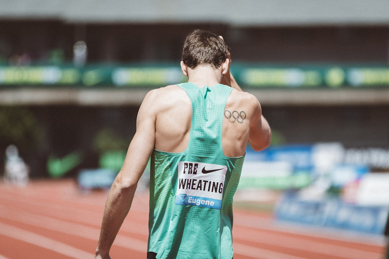 Andrew Wheating , twice an Olympian.