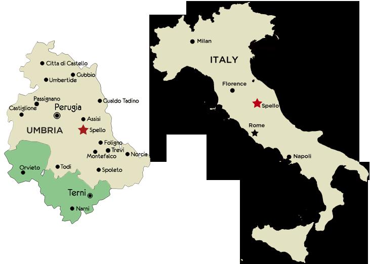l abbondanza perugia italy map - photo#9
