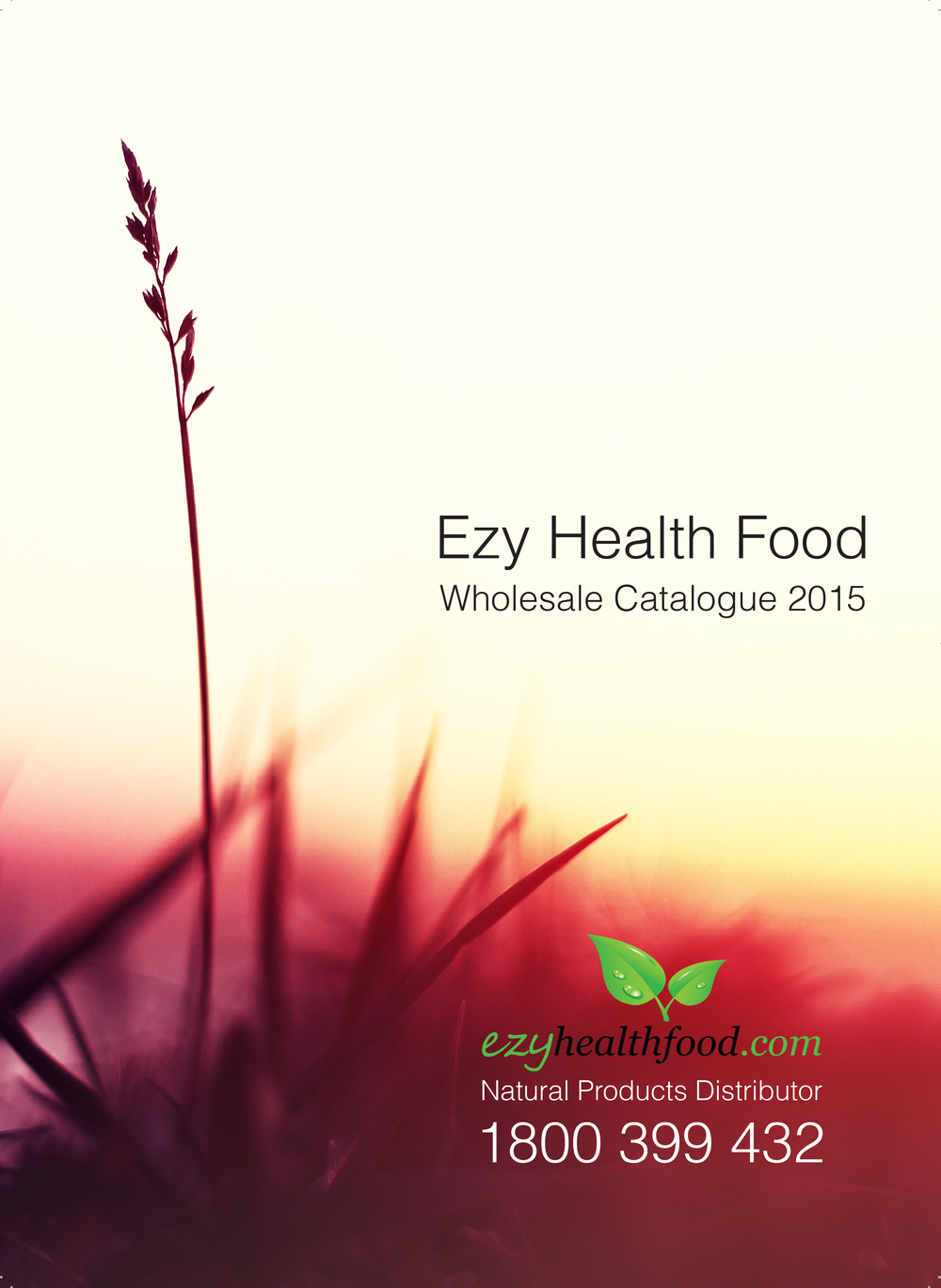 Easy Health Product Catalogue Font Page