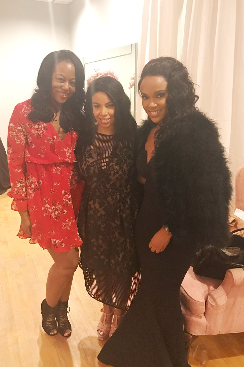 Myself, Neffi Walker Owner of design firm Le Noir Home and Nicole of House of Chic LA
