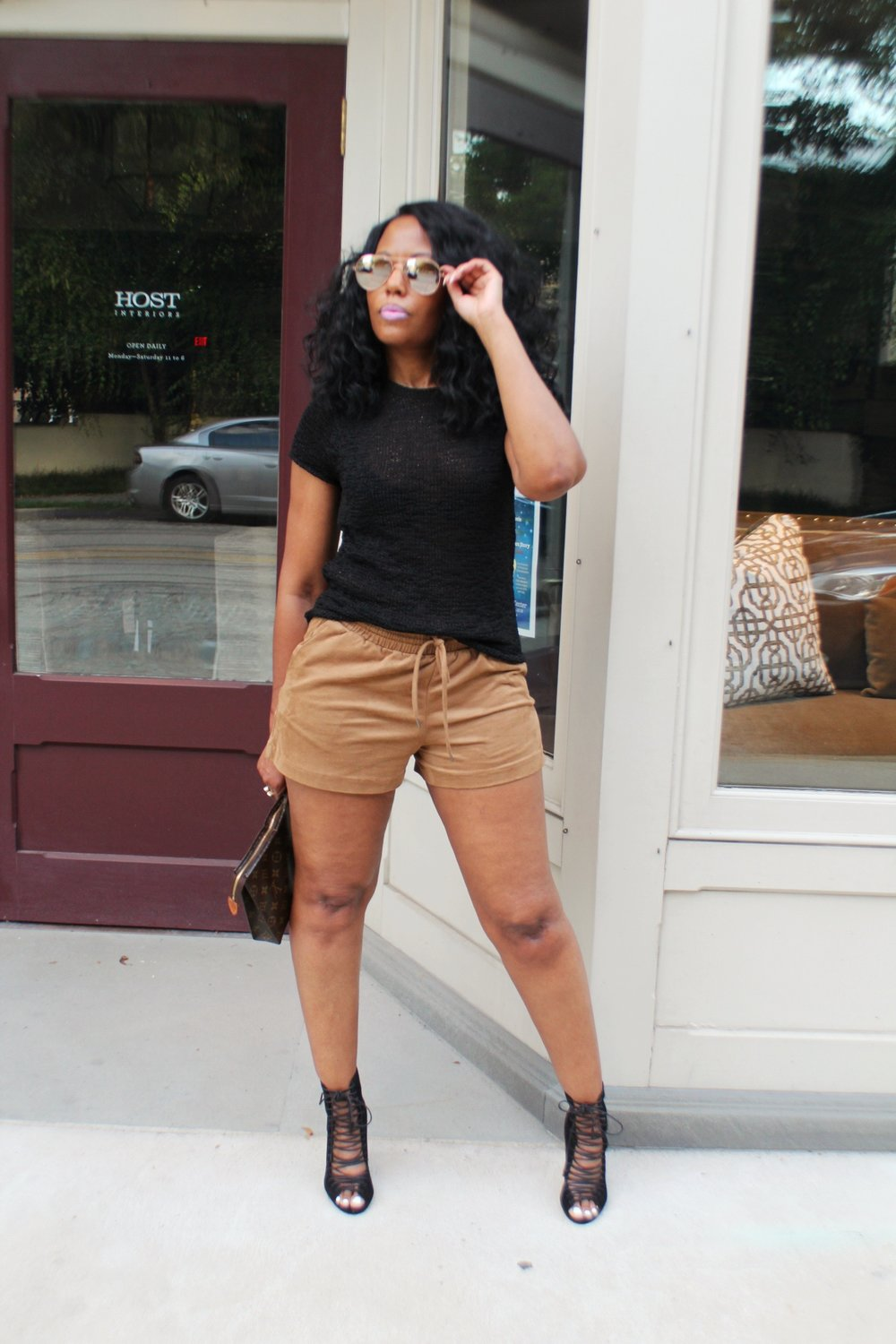 How-To-Style-Faux-Suede-Shorts
