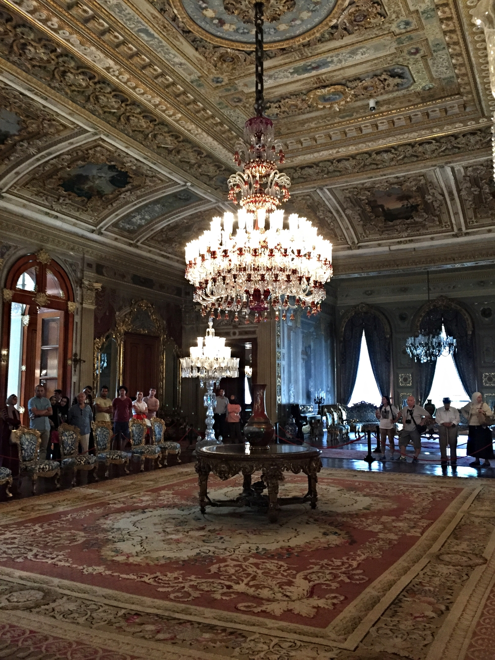 5 additional must see sites throughout istanbul life of ada venture not the largest chandelier but this one is adorned with baccarat crystals arubaitofo Image collections