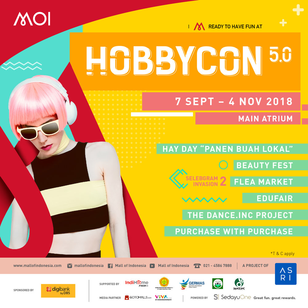 Insta Hobbycon 2018 Mall Of Indonesia