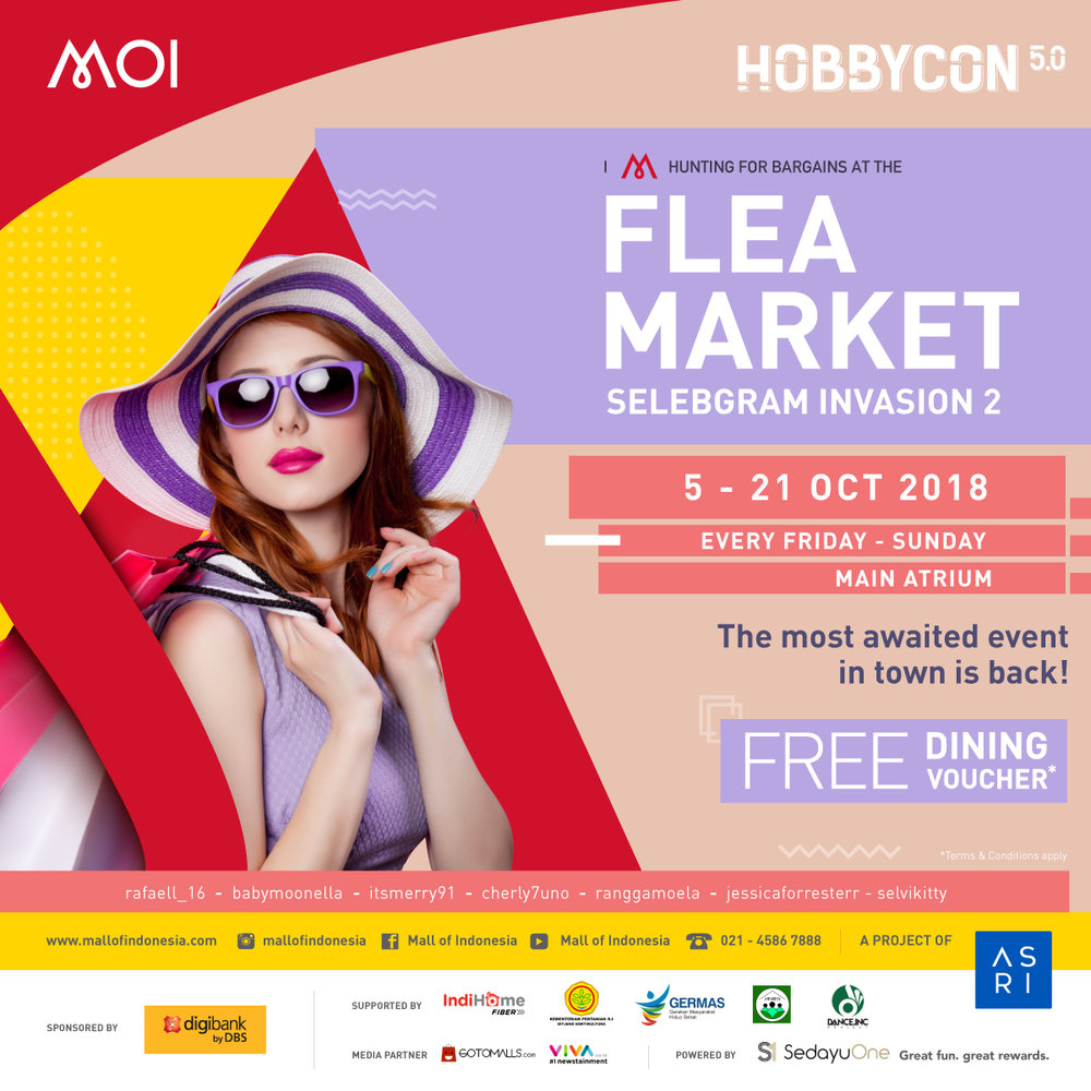 FLEA MARKET MALL OF INDONESIA