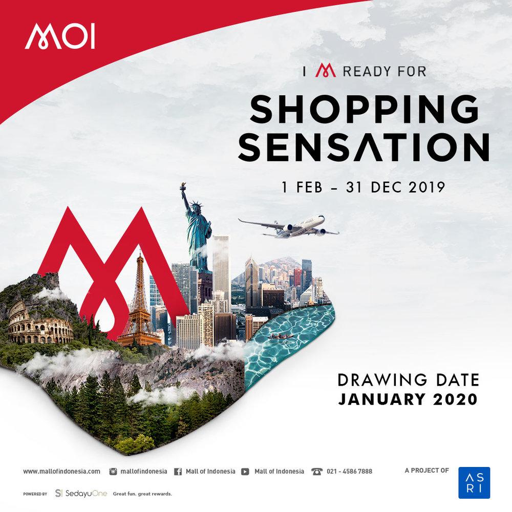 Shopping sensation MOI