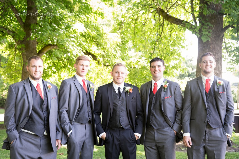 Portland, OR wedding photography groomsmen