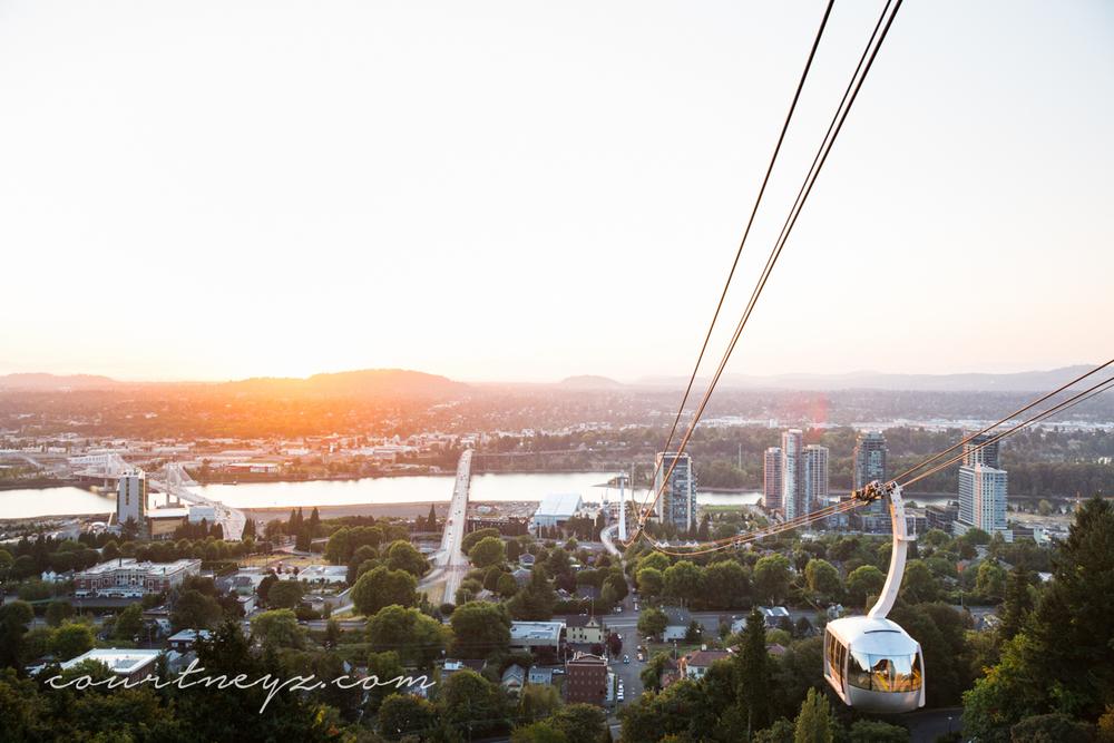 Portland, OR Aerial Tram