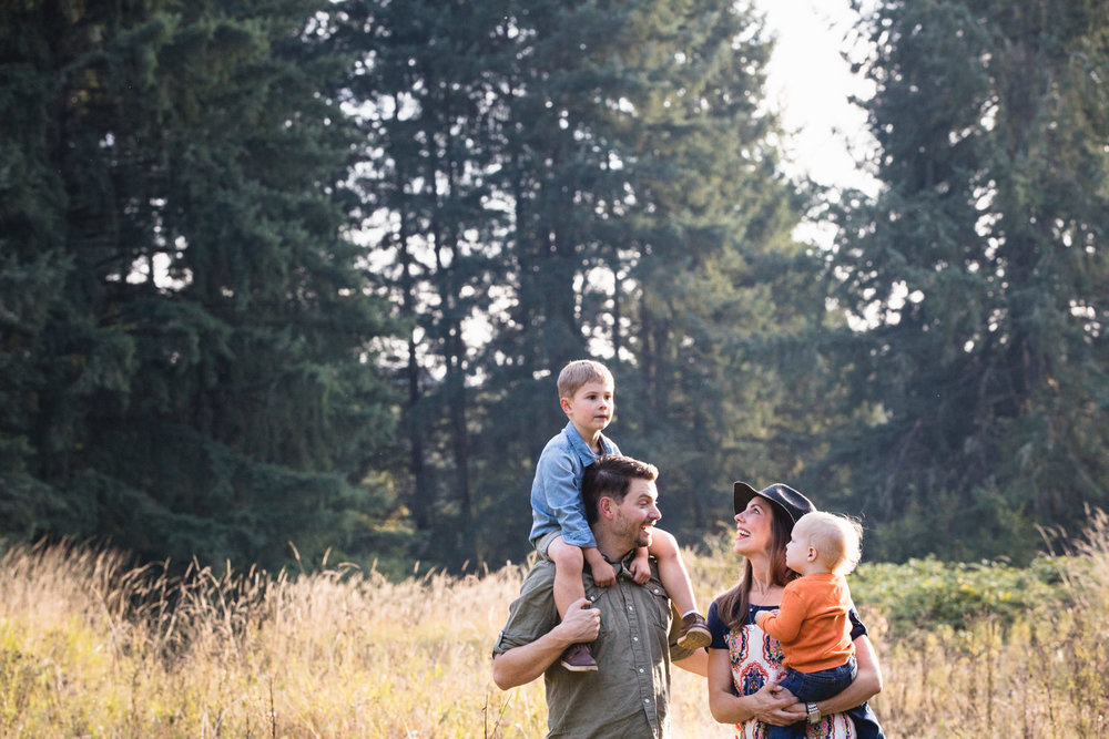Pacific Northwest family photographer