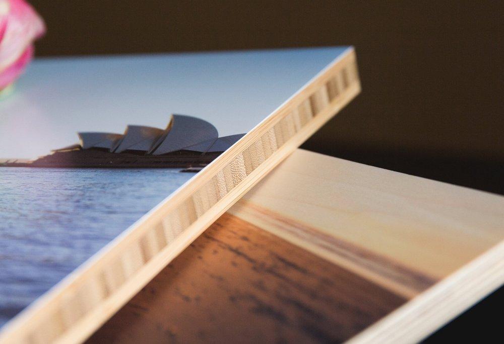 wood panels - sleek and stylish