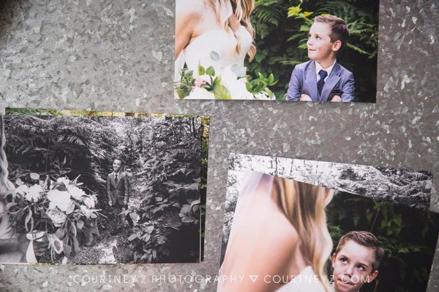 I wish you could see these in person because this beautiful, deep matte photo paper is drool worthy. Printed photos are just about my favorite thing EVA!