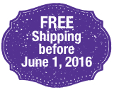 All pre-orders receive FREE shipping!
