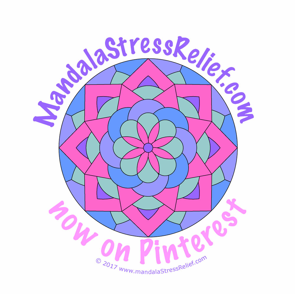 Visit me on Pinterest:  https://www.pinterest.ca/mandalastressrelief/