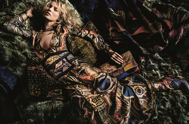 Kate Moss for Etro