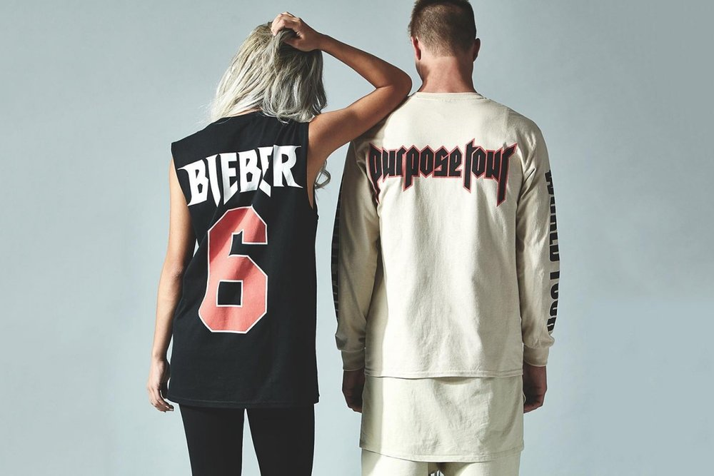 Justin Bieber's Purpose Tour Merch