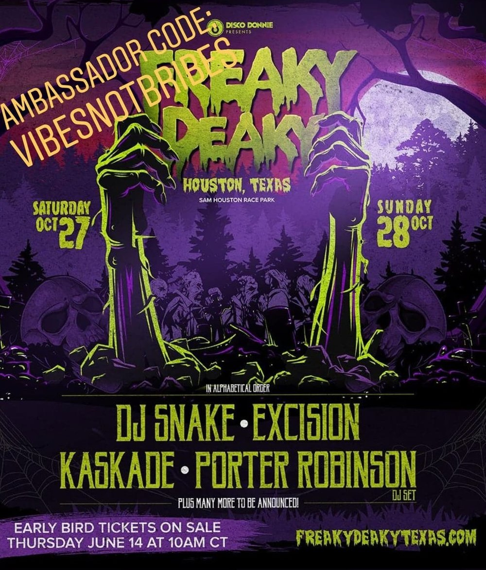 freakydeakytexas halloween | october 27th and 28th | sam houston