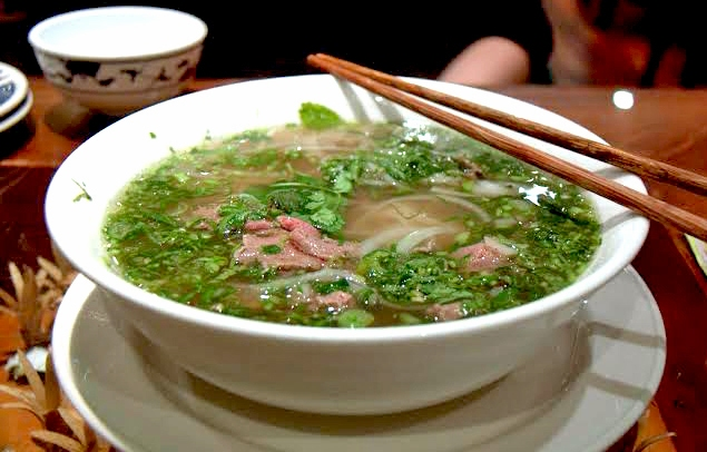 BEEF PHO WITH BRISKET   MIEN TAY   £7.50