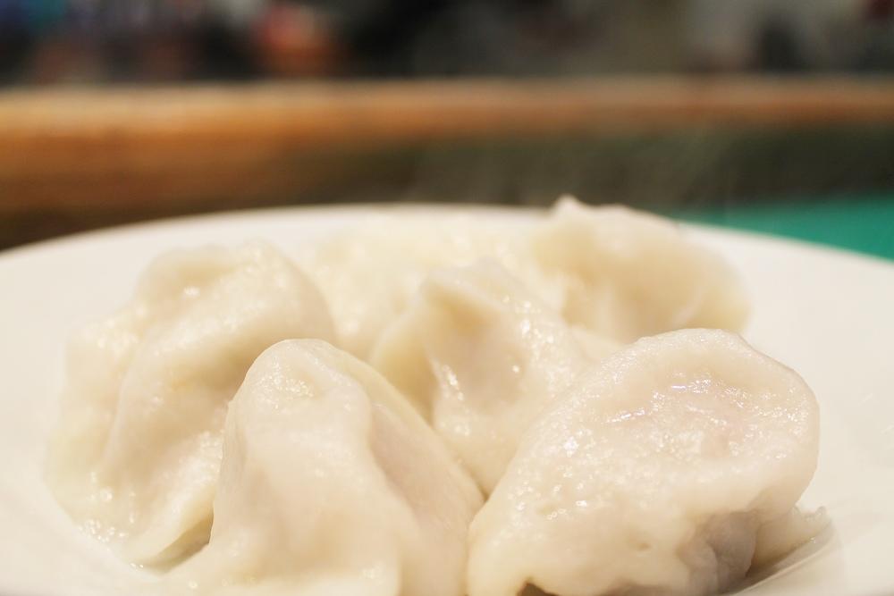 steamy Beijing dumplings at Jen Café