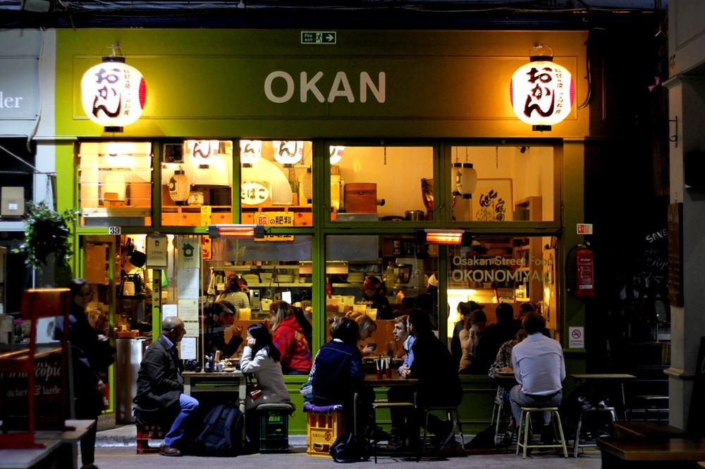 Osakan street food in Brixton