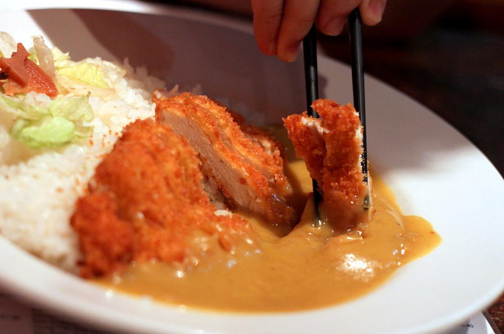 chicken katsu curry at Fujiyama