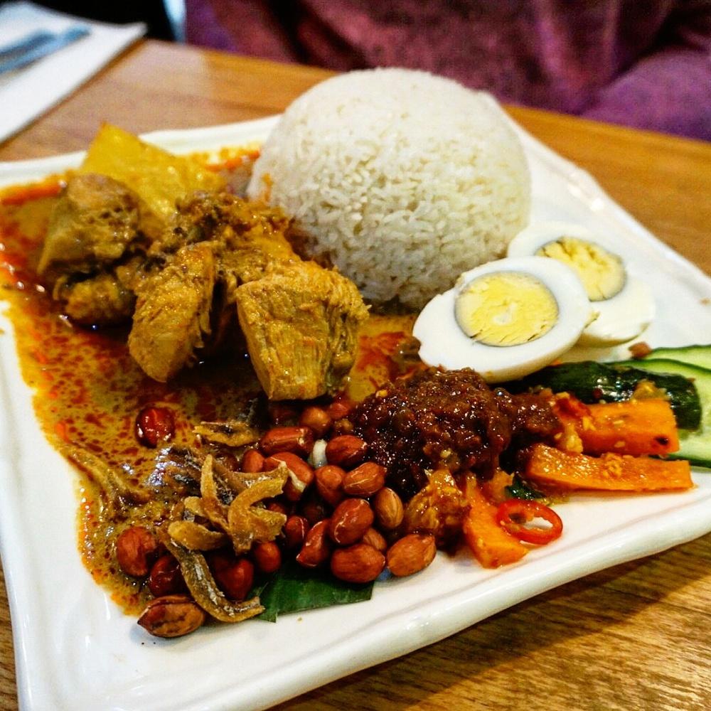 nasi lemak at Rasa Sayang
