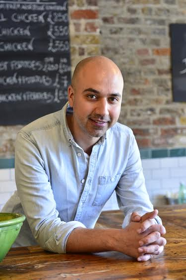 Sam Mousawi, founder of Park Road Kitchen in Battersea