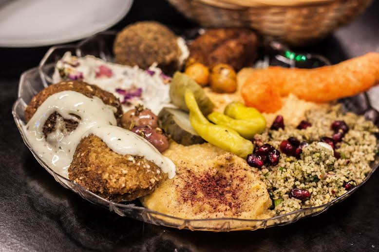 large meze platter at Persepolis