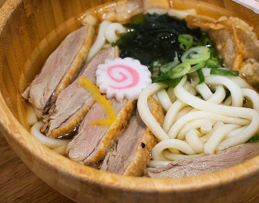 roasted duck udon from Kano