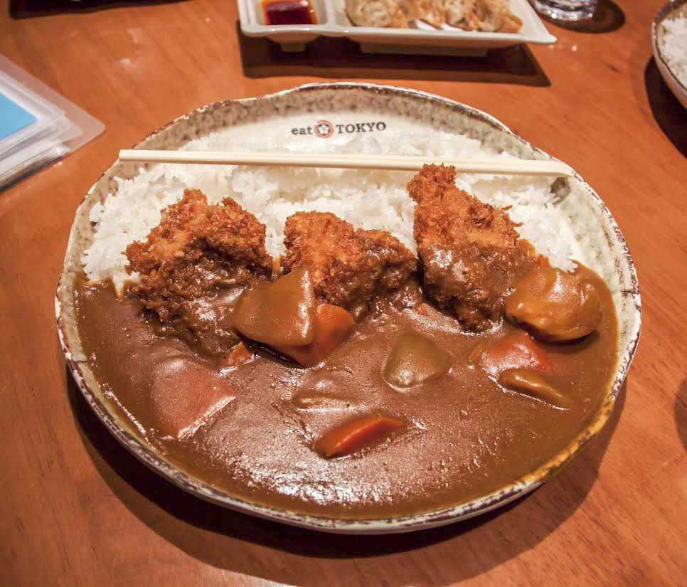 katsu curry from Eat Tokyo