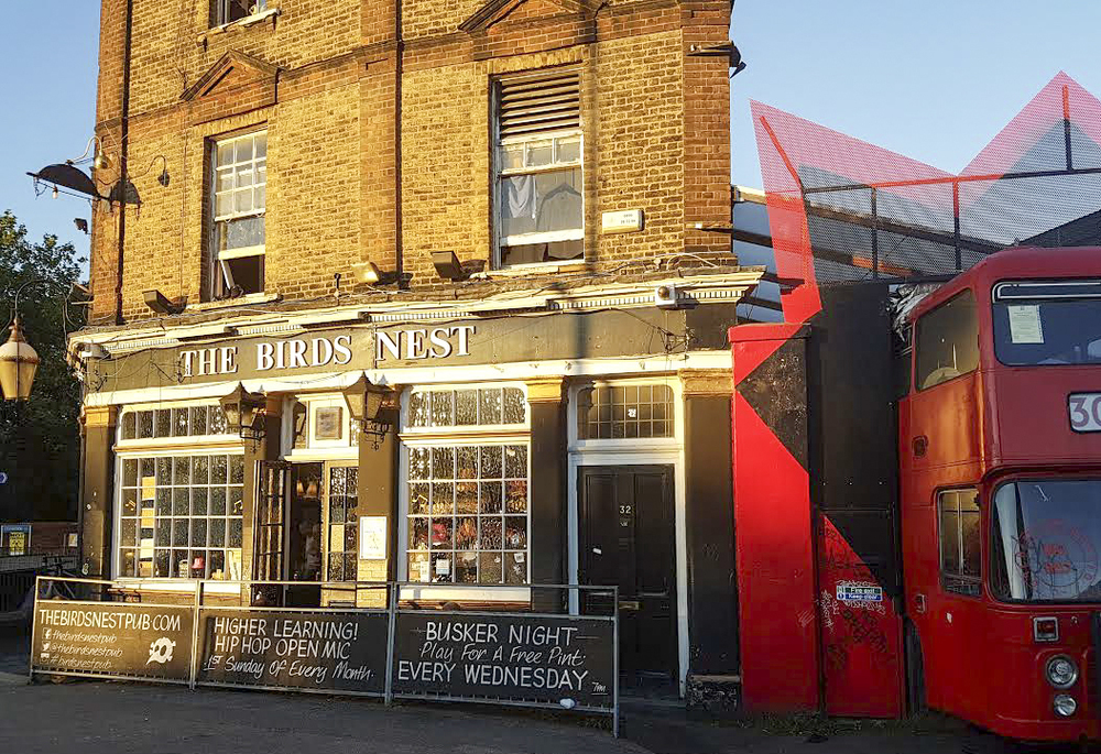 The Bird's Nest Pub in Deptford