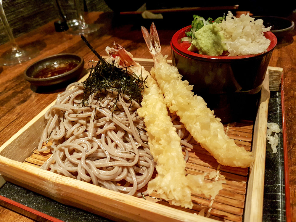 Tenzaru soba at Kitcho by Ajichiban, Greenwich