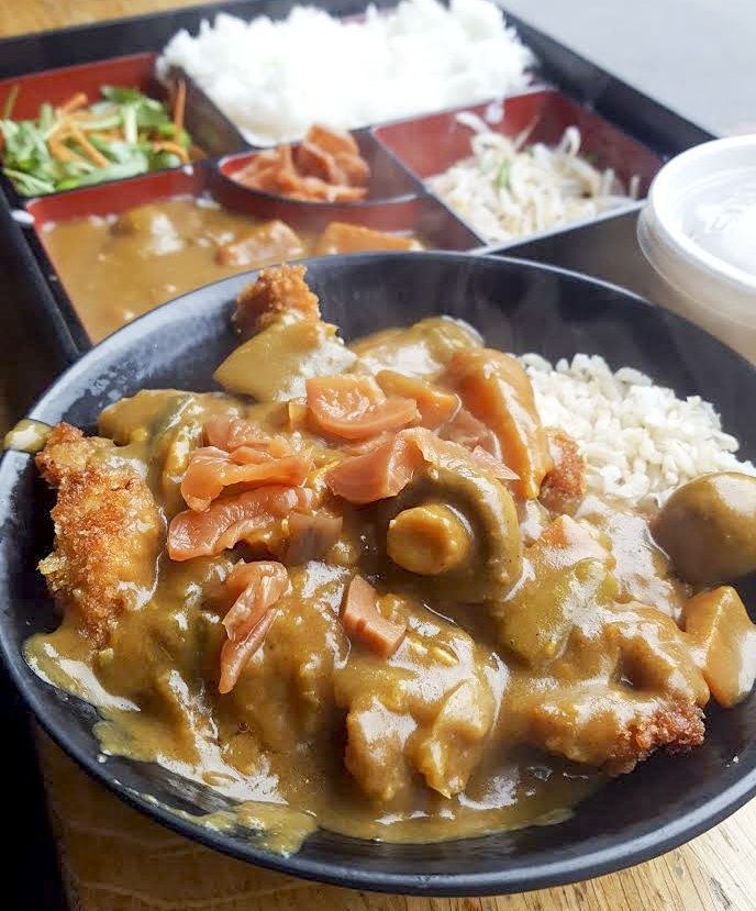 chicken katsu curry, Japanese Canteen