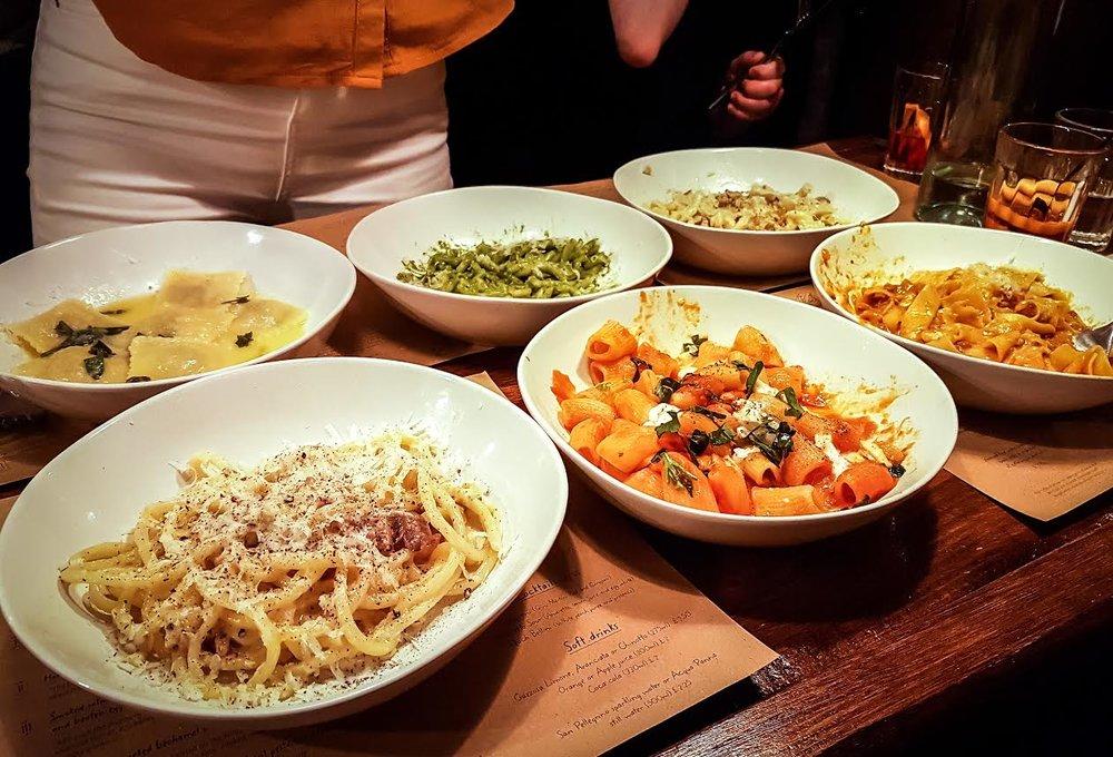 Emilia's Pasta, St Katharine Docs