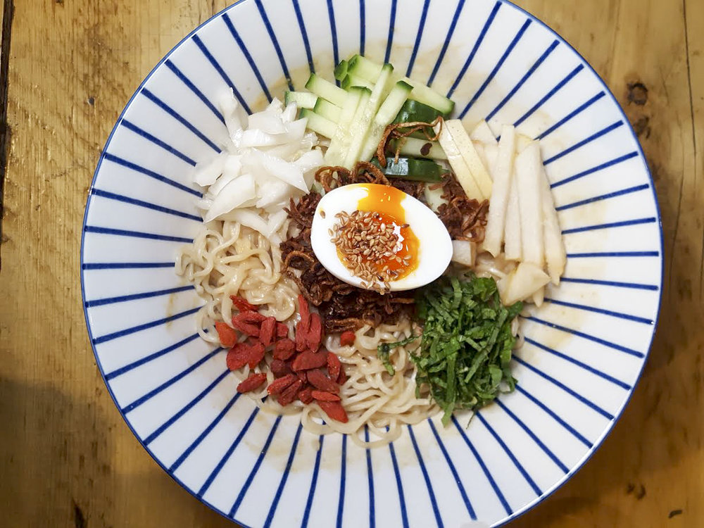 cold noodle salad from Tang, Bloomsbury