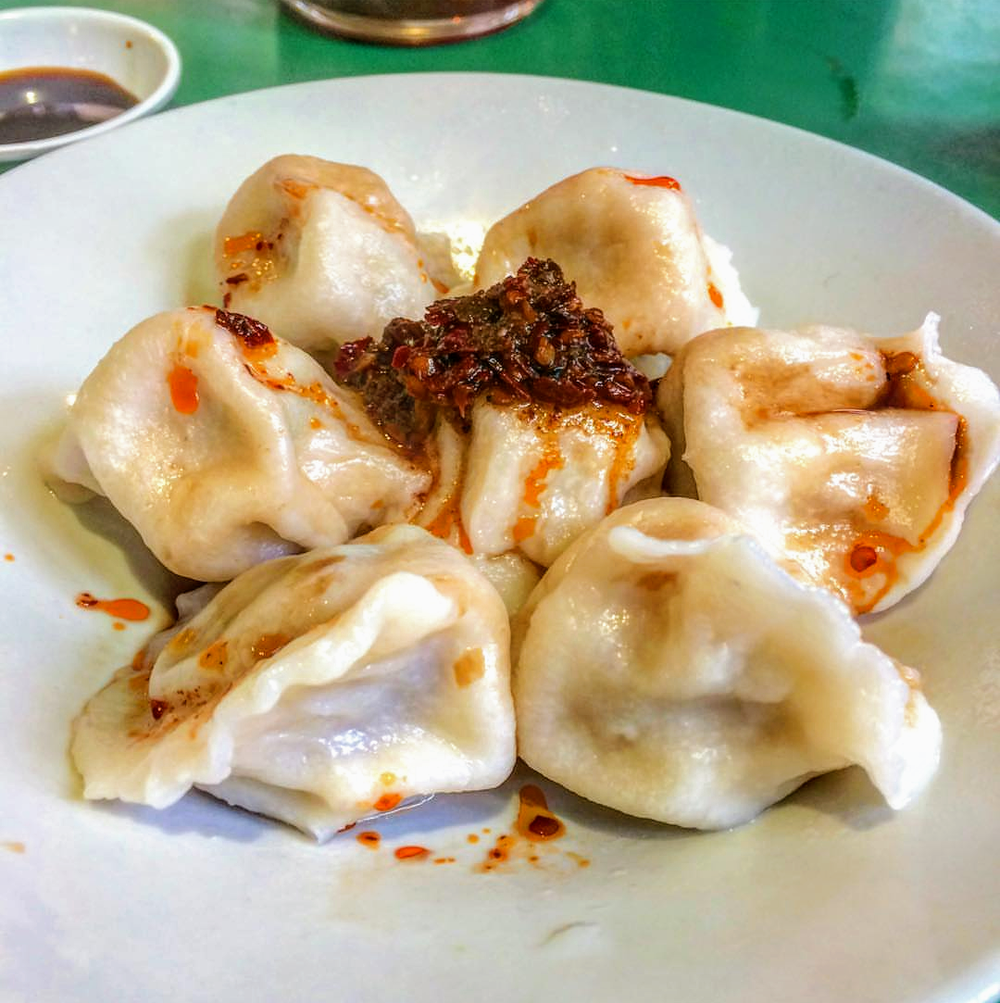 steamy Beijing dumplings at Jen Café