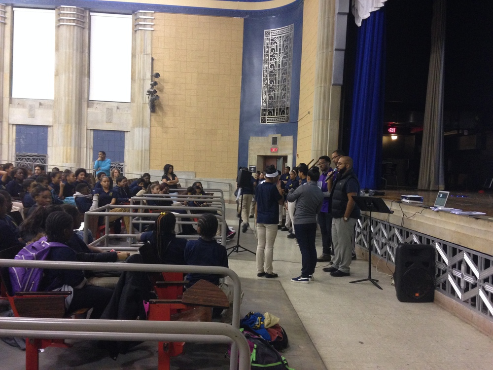 Students Receiving Attendance Awards
