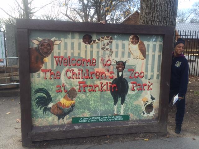 Ms. Mendes' advisory at Franklin Park