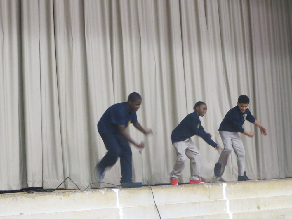John, Ryan and Luis busting moves to DLOW's 'Bet You Can't Do It Like Me'
