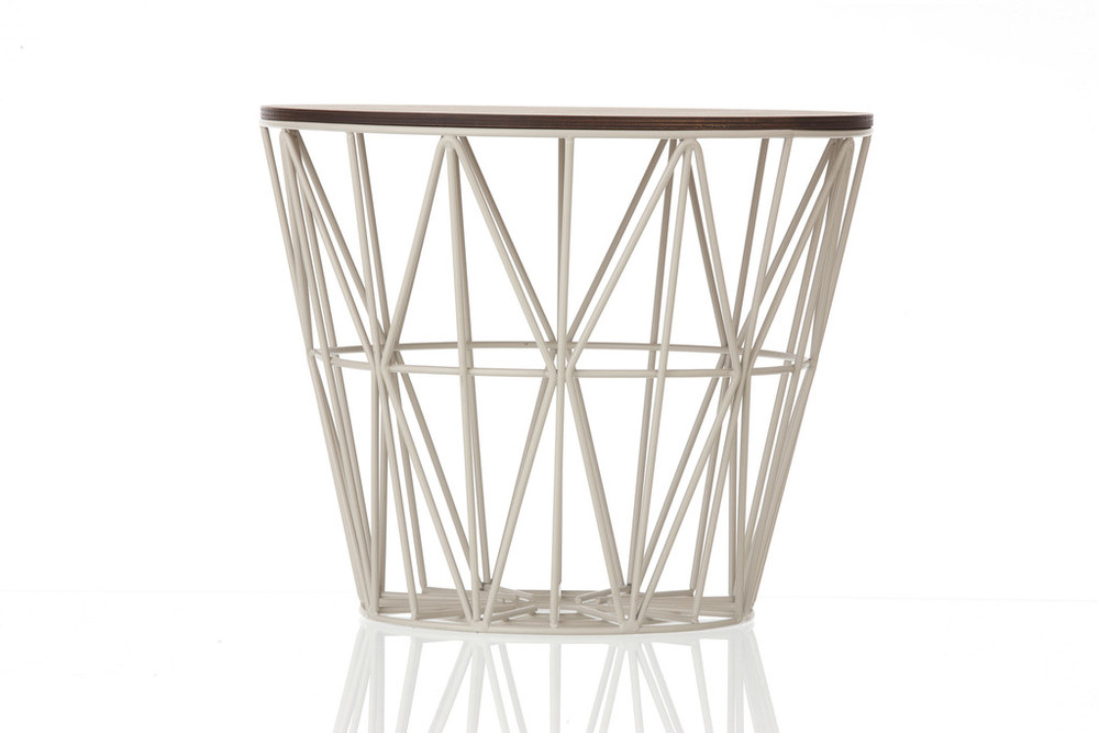 ferm living wire basket collection acacia modern home. Black Bedroom Furniture Sets. Home Design Ideas