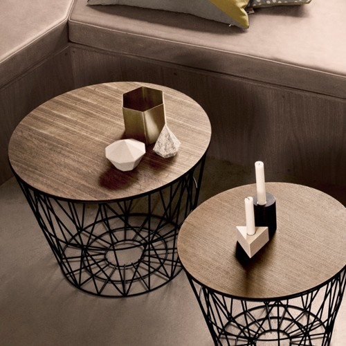 Ferm Living Wire Basket Table   1 Requested