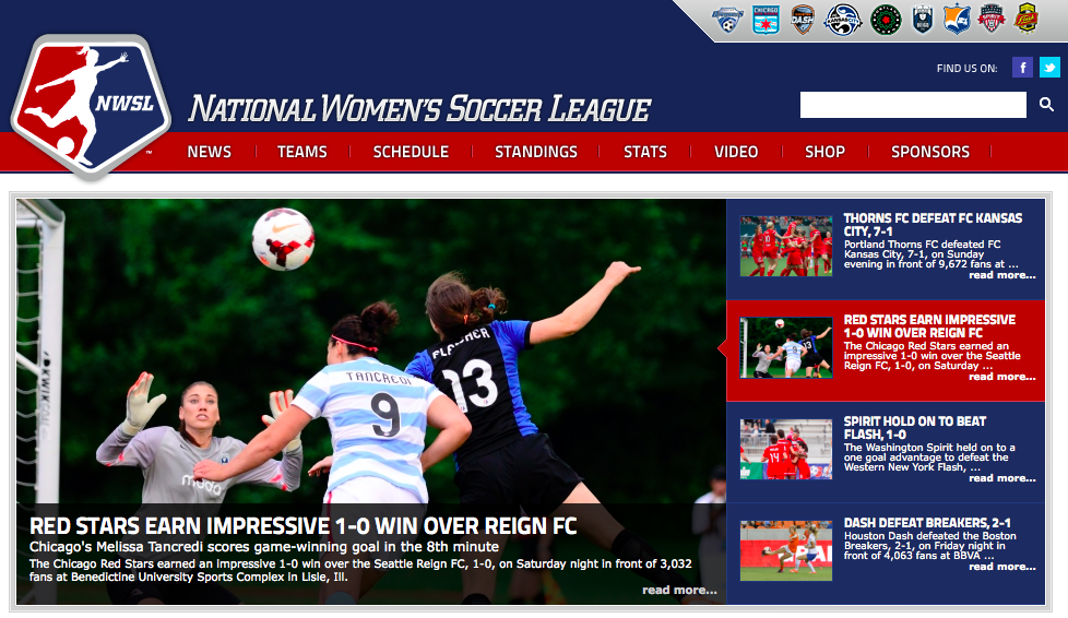 hoto Credit: NATIONAL WOMEN'S SOCCER LEAGUE