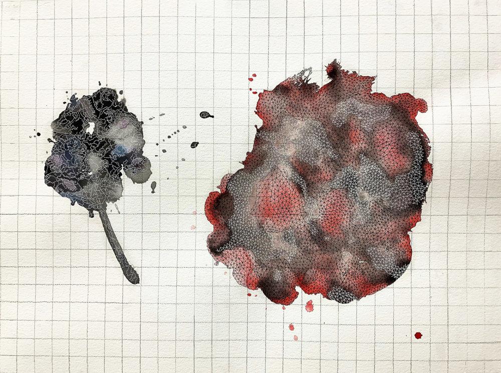 JordanLitzinger_ When I Was Small (The World)_2018_Watercolor, Pen, Graphite_22inx30in.jpg