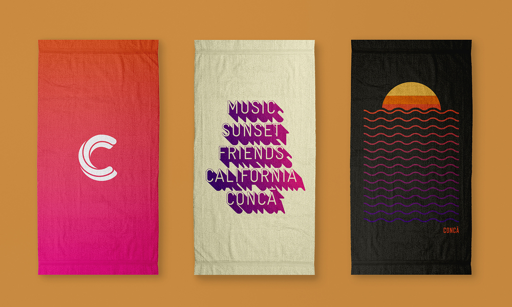 Towels for the pool party