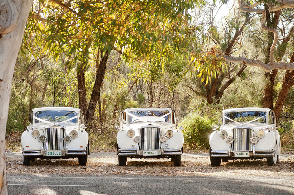 belle classics perth wedding cars