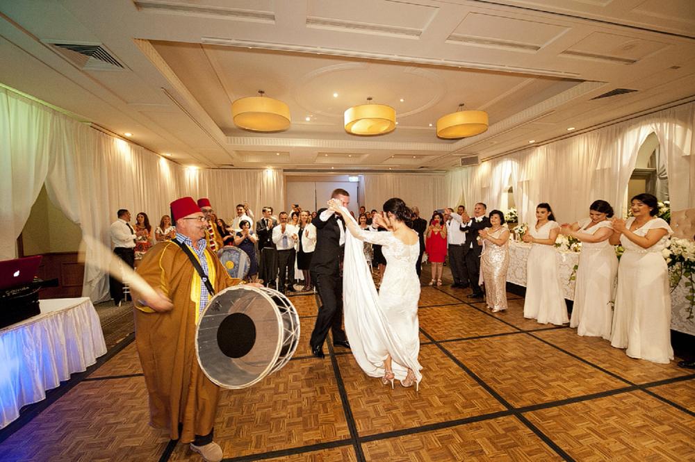 lebanese drumming at perth wedding