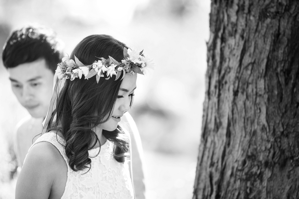 natural candid black and white perth engagement photography